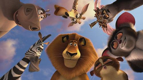 Звери из мультфильма Мадагаскар