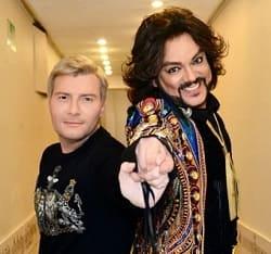 На фото Киркоров и Басков