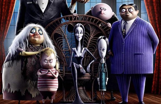 Картинка из мультфильма семейка аддамс
