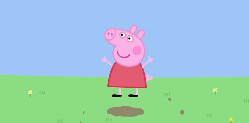 Картинка из мультфильма Свинка Пеппа
