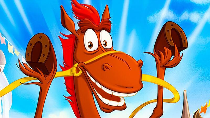 Картинка конь Юлий