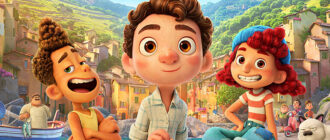 Картинка из мультфильма Лука